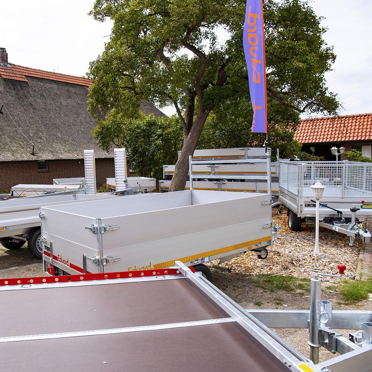 Anhänger-Ammerland Ausstellungsfläche